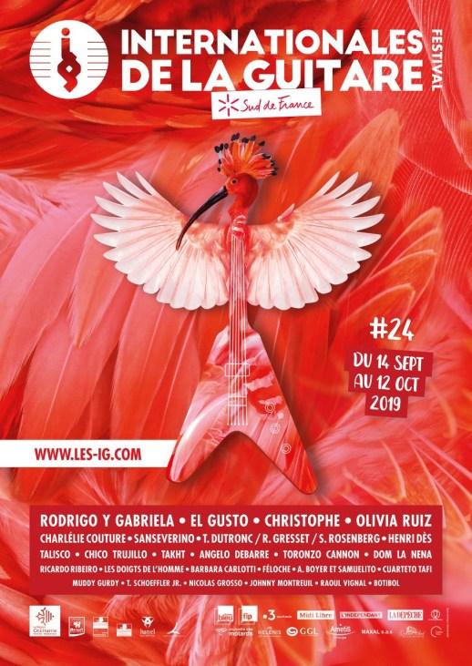 Du 14 septembre au 12 octobre, le festival des Internationales de la Guitare – Sud de France résonnera dans toute l'Occitanie !