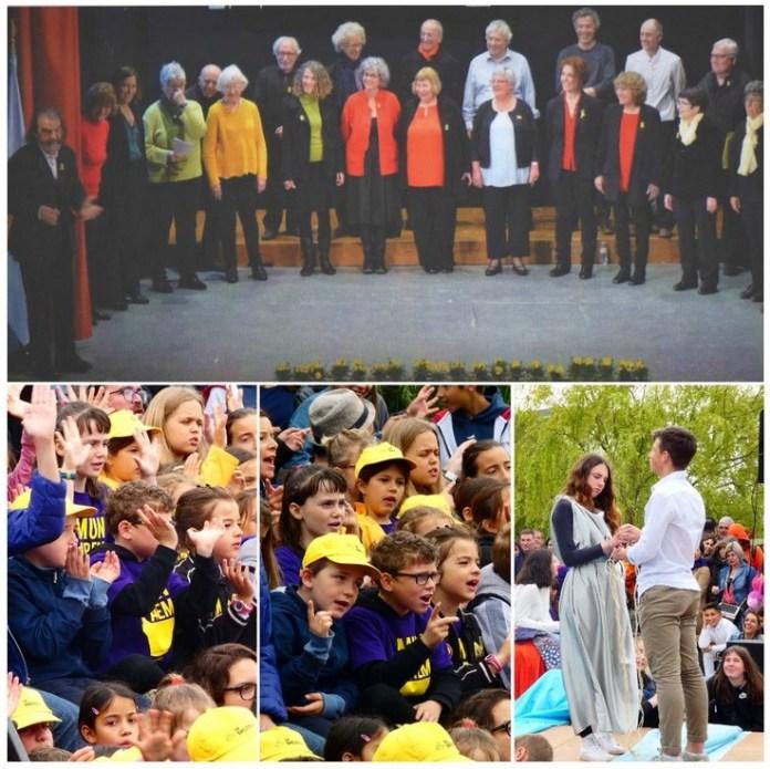 Festa de la Música : concert amb la participació dels alumnes de La Bressola de Prada