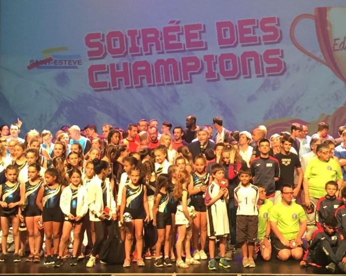 La cérémonie des Champions à Saint-Estève !