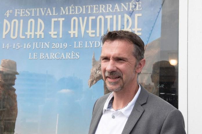Le gratin du roman noir, dont Franck Thilliez, s'est invité pendant trois jours sur le Lydia