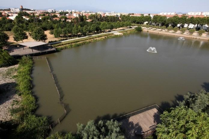Perpignan extension du parc Sant Vicens