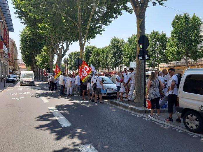 Retour sur la manifestation des urgentistes à Perpignan
