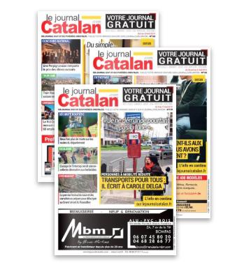 Visuel abonnement Journal Catalan