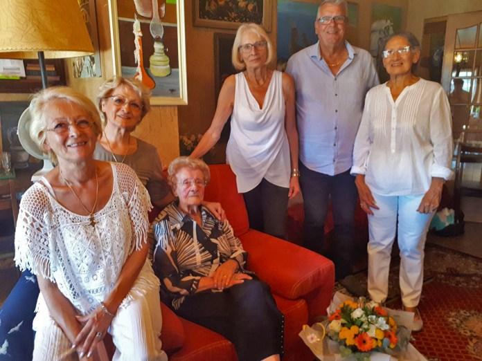 100 ans Mme Monge Le Soler