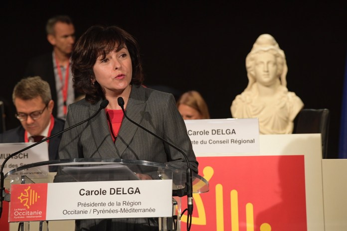 Assemblée plénière de la Région Occitanie Discours de Carole Delga