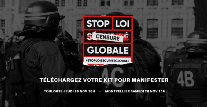 Club de la presse : Stop Loi Sécurité Globale : rassemblement jeudi 3 décembre à Perpignan