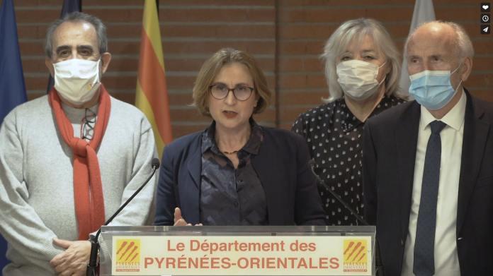 Discours des vœux de Mme Hermeline Malherbe, Présidente du Département des Pyrénées-Orientales