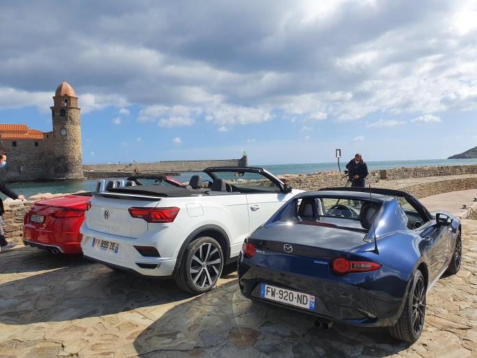 """Le Magazine auto """"Turbo"""" diffusé sur M6 en tournage à Collioure"""