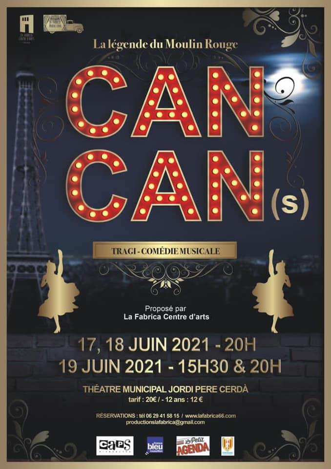 CAN CAN : spectacle de La Fabrica Centre d'arts de Perpignan