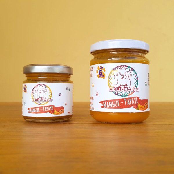 Petit pot Mangue - Papaye