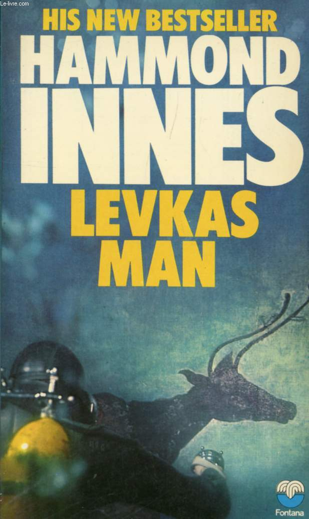 1971 Fontana paperback edition of Levkas Man