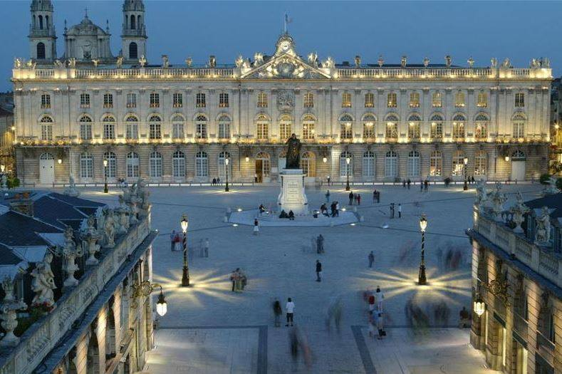 Le top 10 des plus belles places au monde la place Stanislas 4me  Le Lorrain