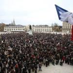 Rassemblement dans toute la Lorraine en hommage aux victimes de Paris