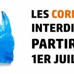 Les sacs de caisse en plastique interdits à partir du 1er juillet 2016