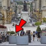 PLACE STANISLAS NANCY : 23 PLOTS DE BÉTON DE 2 TONNES POUR BLOQUER L'ACCES APRÈS L'ATTENTAT DE NICE