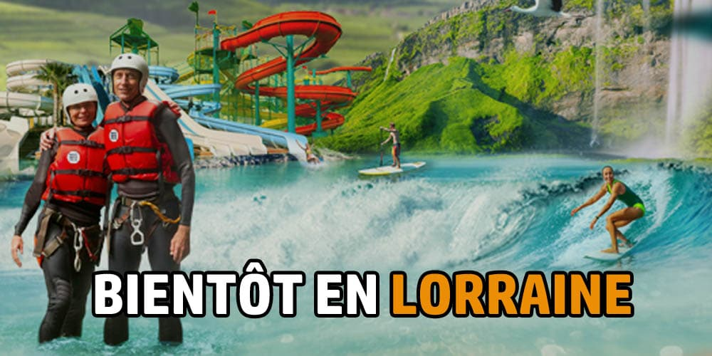 WHITE WATER PULSE : LE NOUVEL AQUADROME LORRAIN EN LEVEE DE FONDS