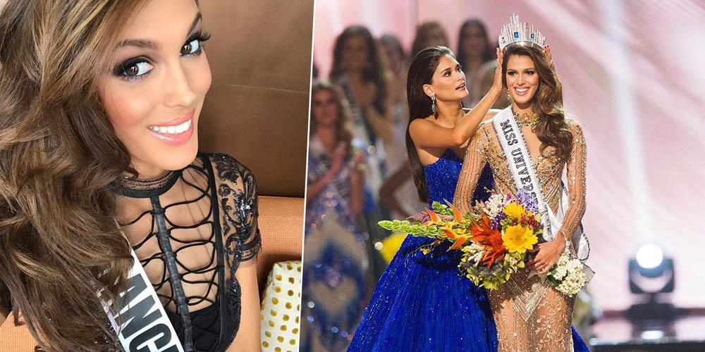 Miss France 2016 vient d'être élue Miss Univers, c'est une première… depuis 1953 !