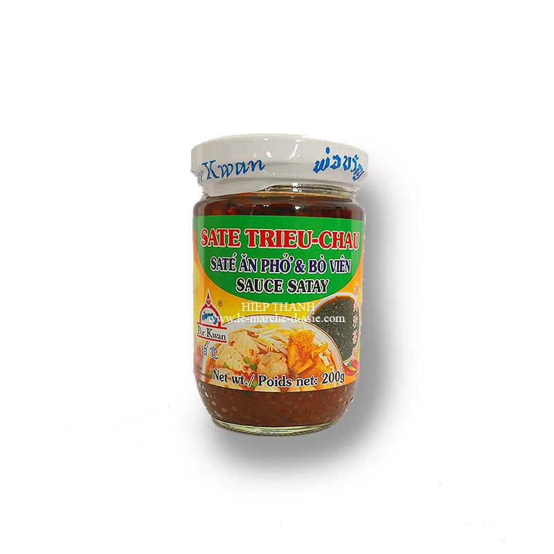 sauce sate trieu chau 200g por kwan