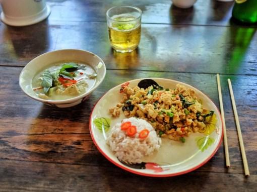 plats cours de cuisine thaïlande