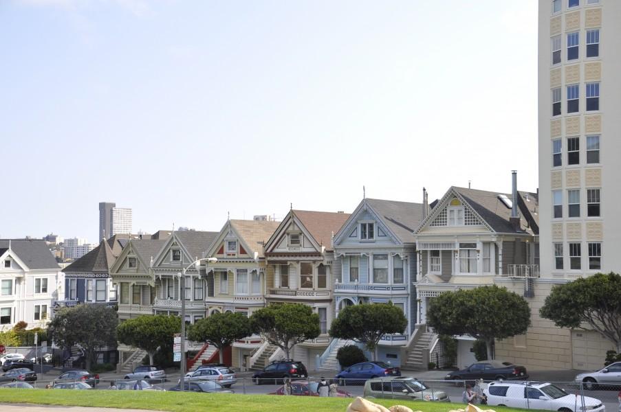 Les Painted Ladies de San Francisco, mondialement connues