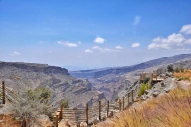 Vue imprenable sur le Jebel Akhdar
