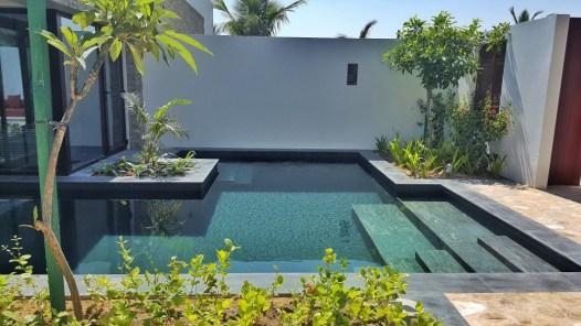 La piscine de notre villa