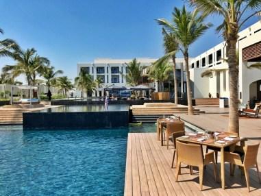 La piscine de l'hôtel Oman