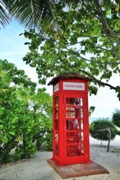 Les fameuses cabines téléphoniques