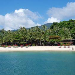 La magnifique plage de l'Anantara