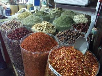 Le marché aux épices de Dubaï