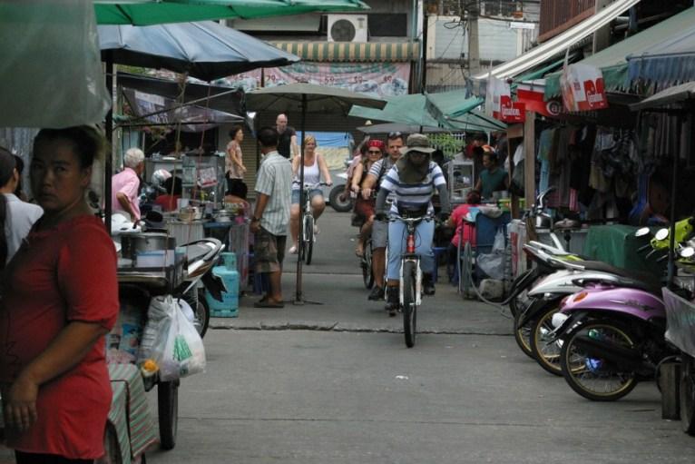 Découverte du quartier de Chinatown à vélo ©bangkokbiking
