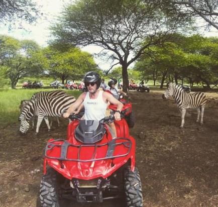 Safari en quad au plus près des zèbres