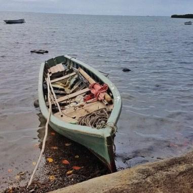 Bateau de pêche à Poudre d'Or