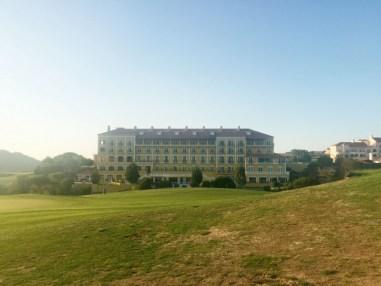 Le Club House et Resort du parcours