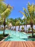 La nouvelle piscine du Saint Géran