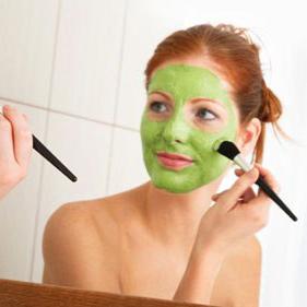 """Pielęgnacja domowa skóry twarzy – Krok 5/5 – """"maseczka na twarz"""""""