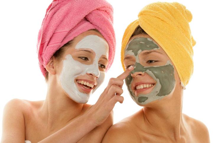 pielegnacja domowa - maseczka na twarz