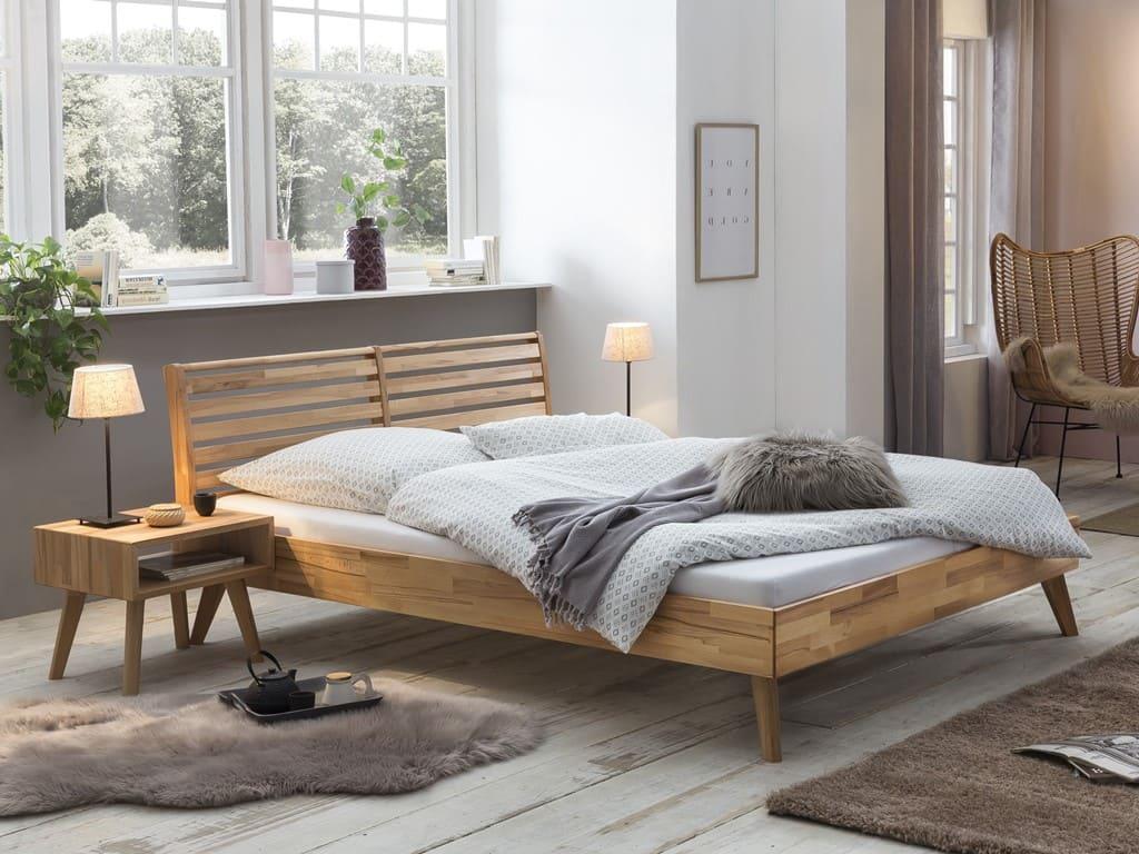 une chambre de style scandinave