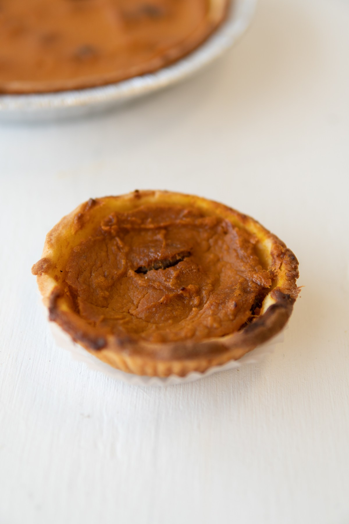 Pumpkin Pie Recipe - Le Petit Paris Winter Garden