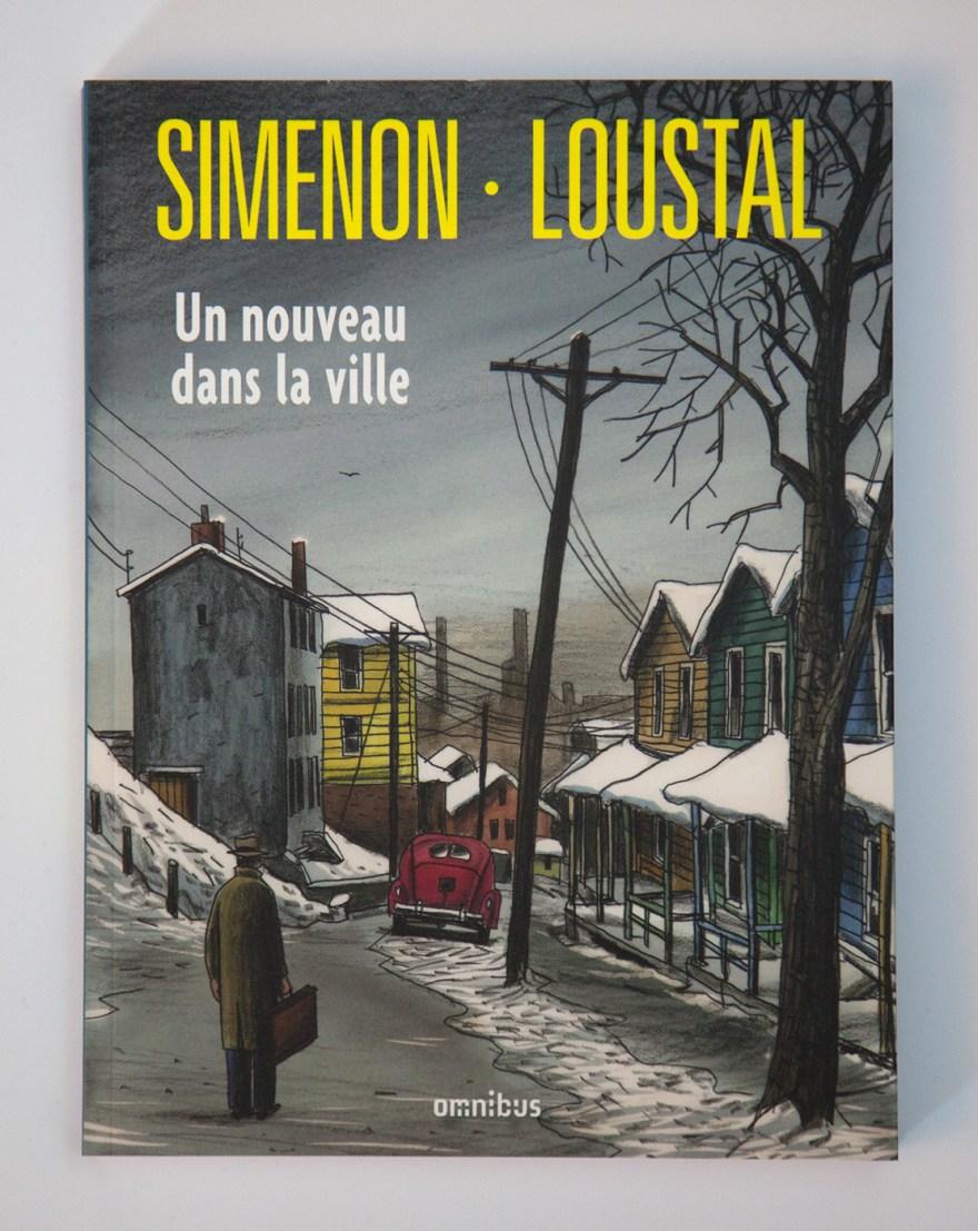 Simenon et Lousatl - Un nouveau dans la ville - Omnibus