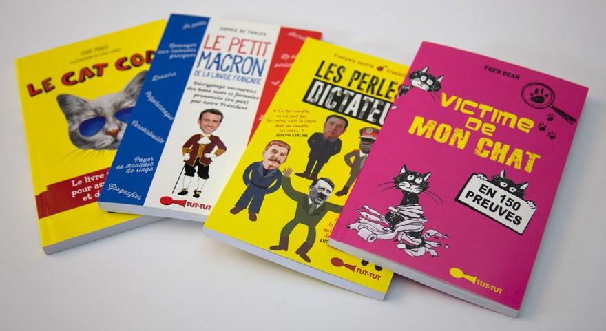 Livres humoristiques - Tut-tut