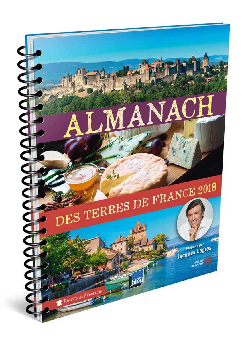 Almanach des terres de France 2018 - Presses de la cité