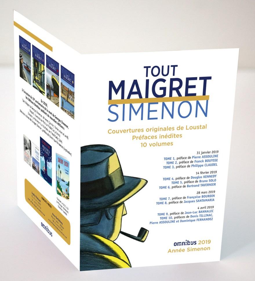 4pages-Simenon, Tout Maigret – Omnibus