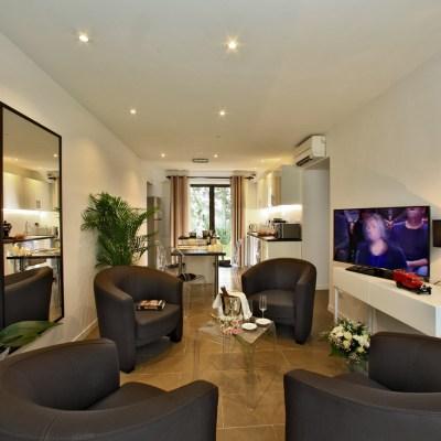 Les Jardins du Porche - Location appartement L'Hortensia - Sarlat