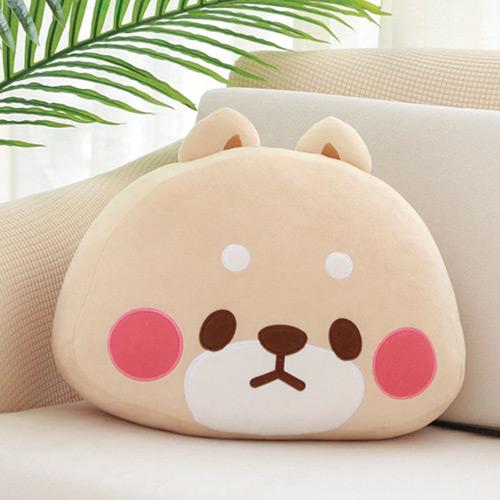 Coussin chien japonais canapé