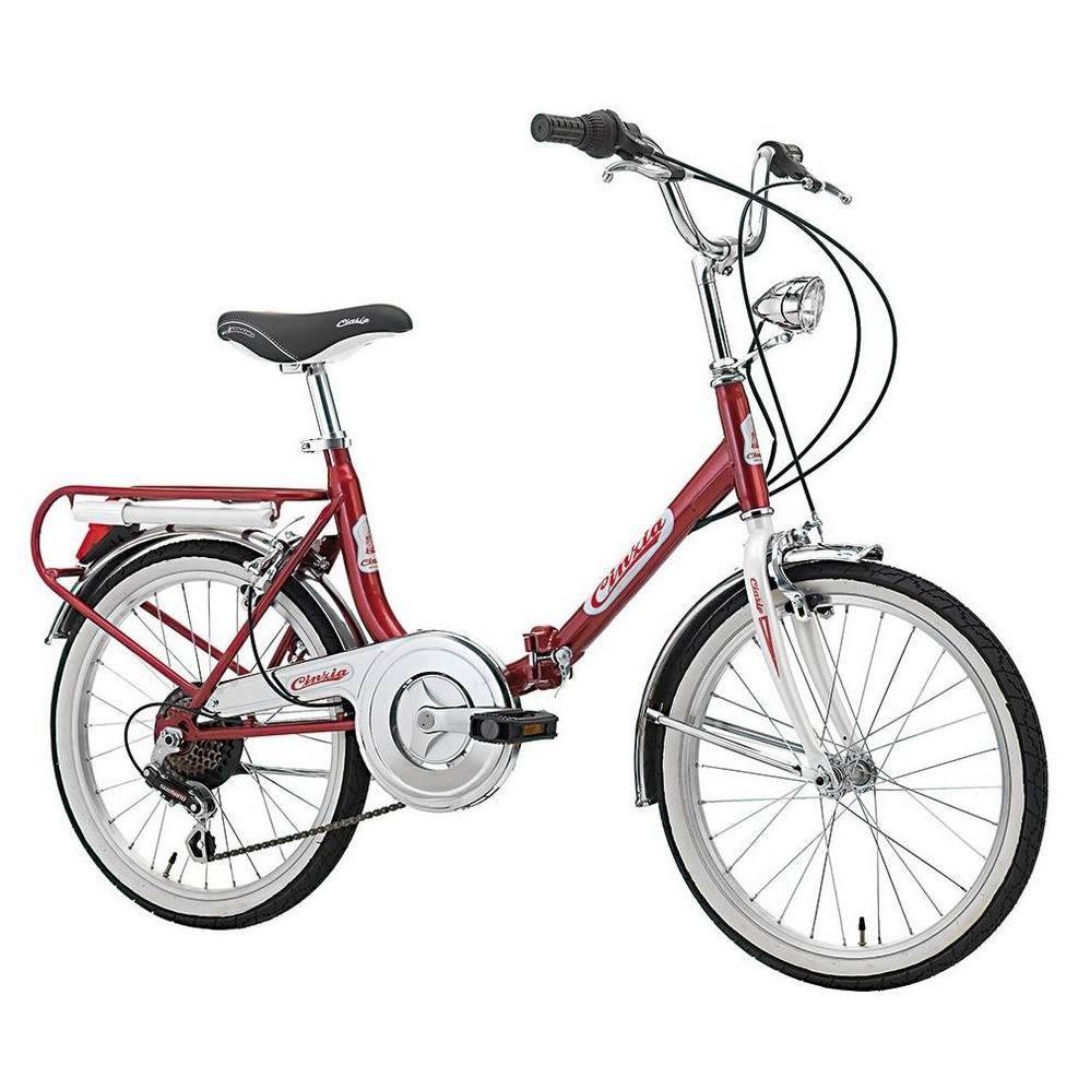 Vélo pliant Cinzia Firenze 6 vitesses vitange rétro chic