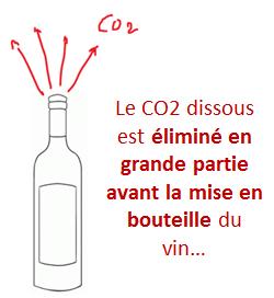 gaz carbonique vin