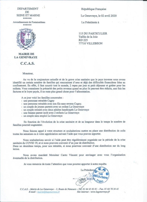 115DP-Courrier CCAS GENEVRAIE du 02 04 2020