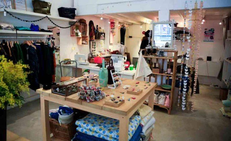 Bow, boutique-atelier de créatrices au coeur de Toulouse. /Photo S. Thuault Ney