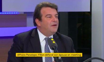 Thierry Solère qualifie François Fillon «d'homme blessé qu'on attaque»